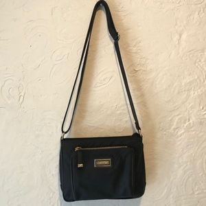 Calvin Klein Black Nylon Crossbody Bag